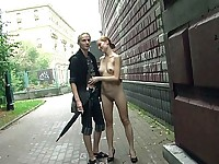 Naked in Public Stree