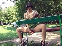 Toying in the park
